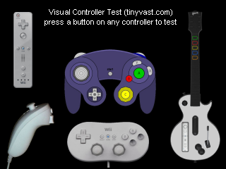 Visual Controller Test