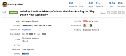 Websites Can Run Arbitrary Code on Machines Running the 'PlayStation Now' Application