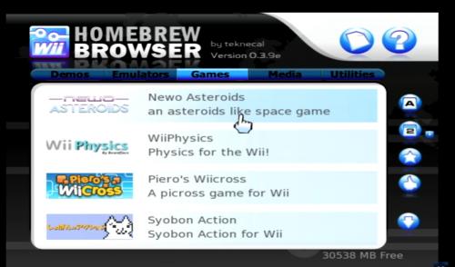 Wii Homebrew Browser
