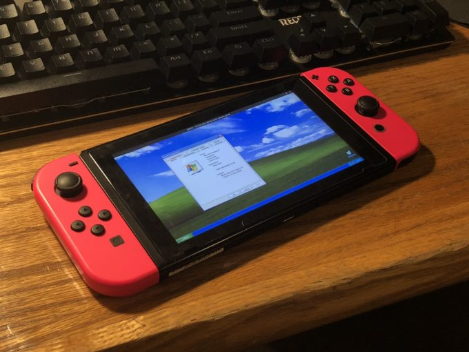 Windows XP running on Switch_1