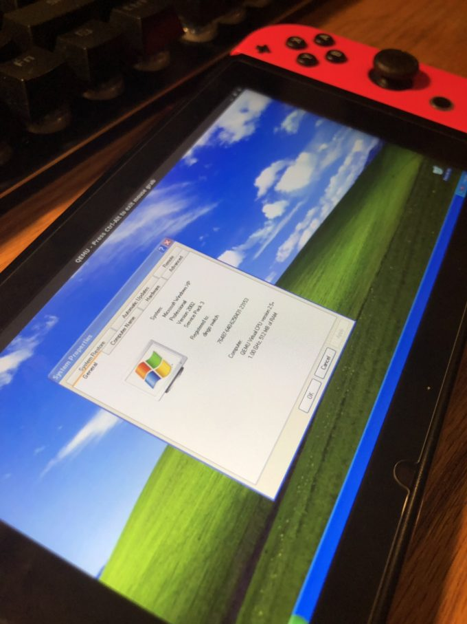 Windows XP running on Switch_2