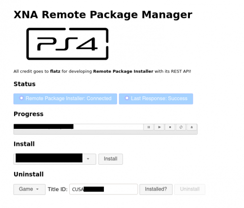 XNA Remote Package Manager