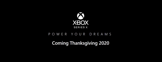 Xbox Series X launching on Thanksgiving