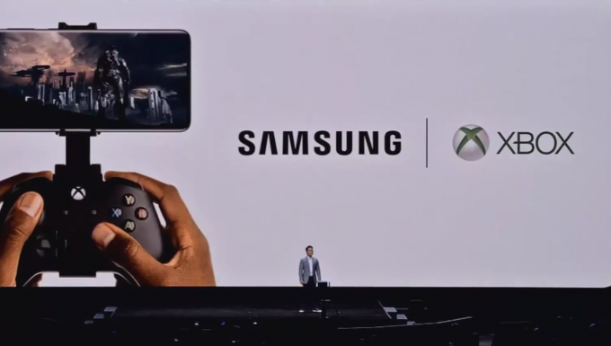 Xbox and Samsung announce partnership for mobile cloud gaming