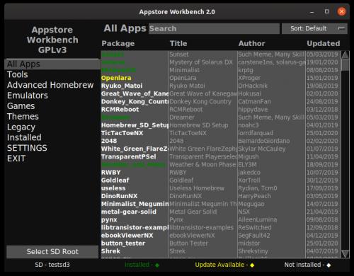 appstore-workbench