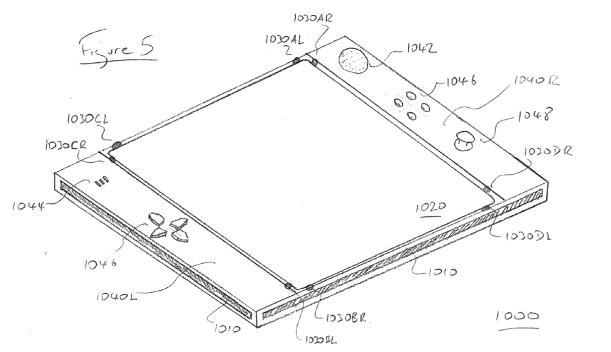 sony eyepad patent