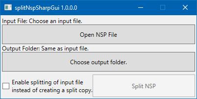 splitNspSharpGui