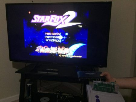 star fox2 works on a real snes