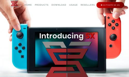temporary SX OS site