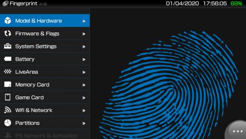 vita-Fingerprint